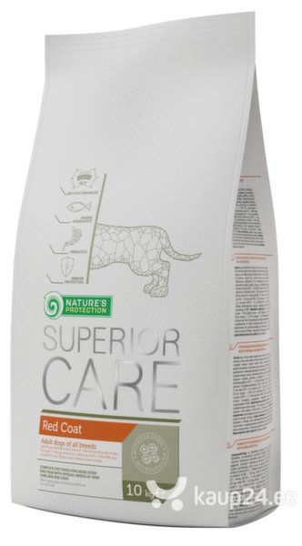 Kuivtoit koertele Nature's Protection Superior Care Red Coat, 10kg