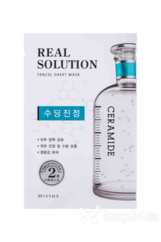 Toitev näomask Missha Real Solution Tencel Sheet Mask 25 g