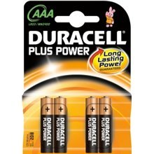 Patarei Duracell Plus Power, 4 tk
