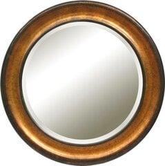 Peegel Carpi, 92x92 cm, kuldne/pruun värv