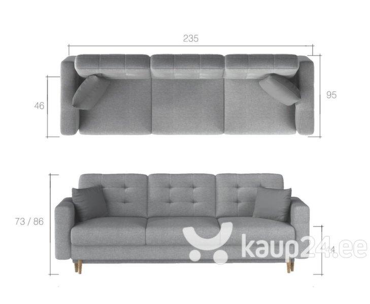 Pehme mööbli komplekt Asgard 3+1, kreem tagasiside