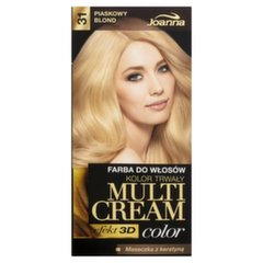Juuksevärv Joanna Multi Cream Color 100 ml, 31 Sandy Blonde