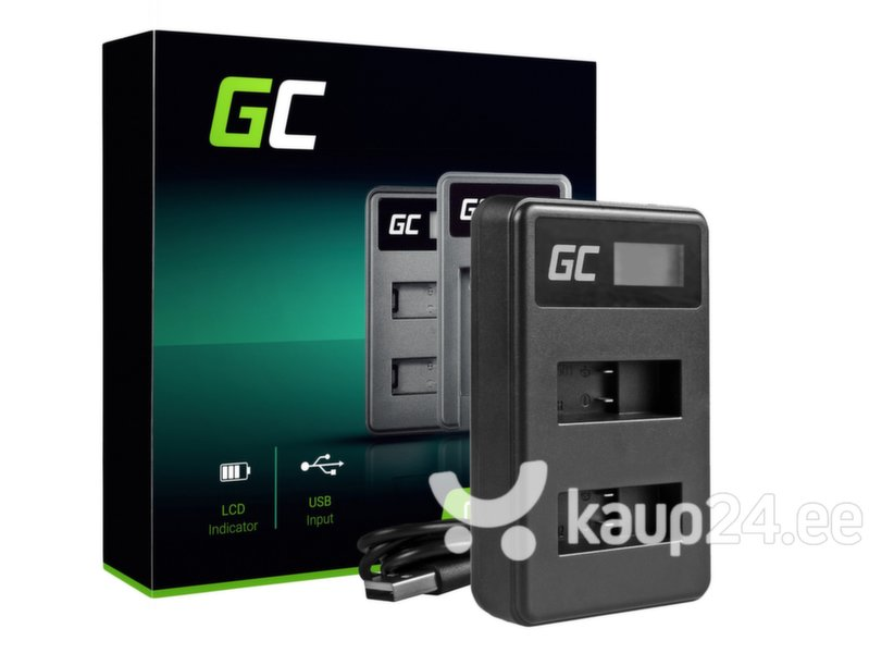 Green Cell Battery Charger AHBBP-501 for GoPro AHDBT-501, HD Hero5, HD Hero6