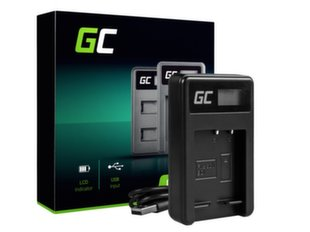 Green Cell Battery Charger BC-CSG for Sony NP-BG1/NP-FG1, DSC H10, H20, H50, HX5, HX10, T50, W50, W70