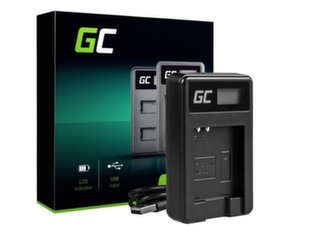 Green Cell Battery Charger CB-2LY for Canon NB-6L/6LH, PowerShot SX510 HS, SX520 HS, SX530 HS, SX600 HS, SX700 HS, D30