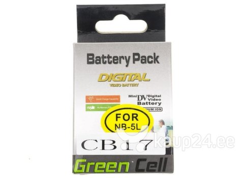 Green Cell® for Canon Digital IXUS 800 860 Digital IXY 800 2000 Powershot S110 SD790
