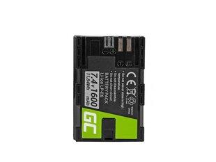 Green Cell® for Canon EOS 70D, 5D Mark II/ III, 80D, 7D Mark II, 60D, 6D, 7D 7.4V 1600mAh