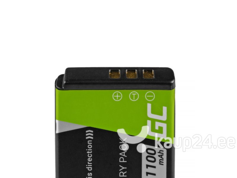 Green Cell®for FujiFilm F100, F200, F300, F500, F600, F700, F80, X10, X20 3.7V 750mAh