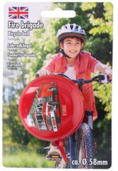 Велосипедный звонок Fire, красный