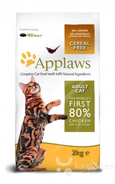 Applaws Dry Cat kanaga, 400 g