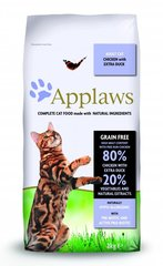 Applaws Dry Cat kana ja pardilihaga, 2 kg