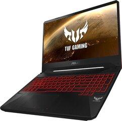 Asus TUF Gaming FX505DY-AL016 8 GB RAM/ 512 GB M.2 PCIe/ 1TB HDD/ Windows 10 Home цена и информация | Записные книжки | kaup24.ee
