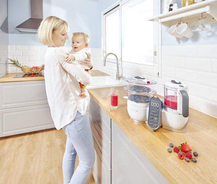 Multifunktsionaalne toiduvalmistamisseade Babymoov Nutribaby A001117