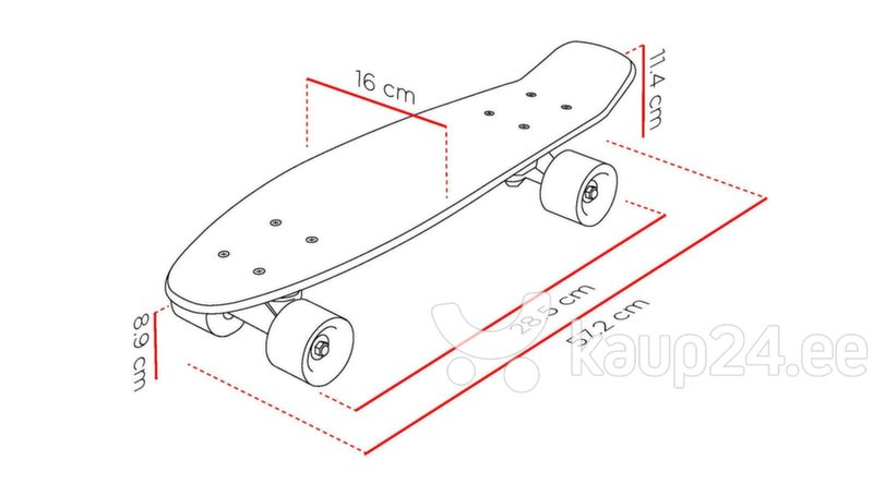 "Rula Street Surfing Beach Board 22"" tagasiside"
