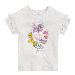 Lühikeste varrukatega pluus tüdrukutele Cool Club Minu Väike Poni (My Little Pony), LCG1816733