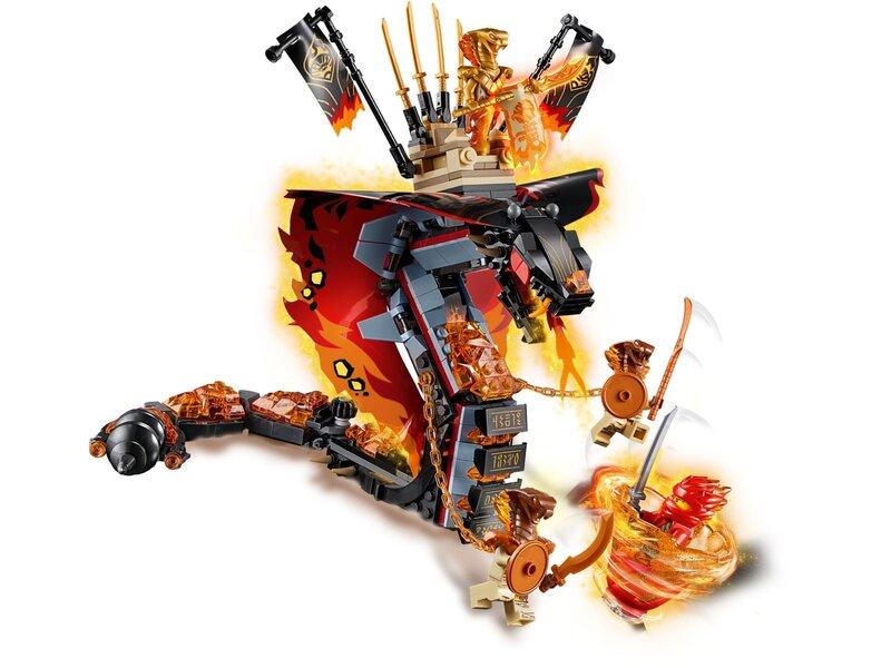 70674 LEGO ® NINJAGO® Tulekihv