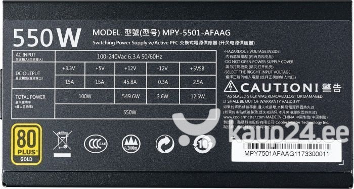 Cooler Master MPY-5501-AFAAG-RE tagasiside