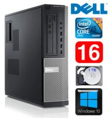 DELL 7010 DT i5-3470 16GB 1TB DVD WIN10
