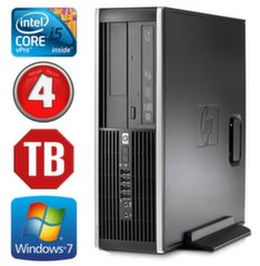 HP 8100 Elite SFF i5-650 4GB 1TB DVD WIN7Pro