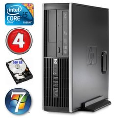 HP 8100 Elite SFF i5-650 4GB 500GB DVD WIN7Pro