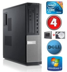 DELL 7010 DT i5-3470 4GB 120SSD+250GB DVD WIN7Pro цена и информация | DELL 7010 DT i5-3470 4GB 120SSD+250GB DVD WIN7Pro | kaup24.ee