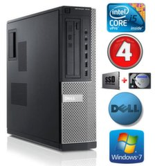 DELL 7010 DT i5-3470 4GB 120SSD+500GB DVD WIN7Pro цена и информация | DELL 7010 DT i5-3470 4GB 120SSD+500GB DVD WIN7Pro | kaup24.ee