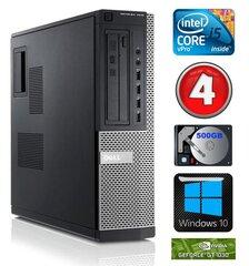 DELL 7010 DT i5-3470 4GB 500GB GT1030 2GB DVD WIN10