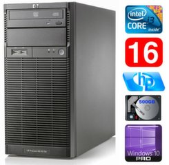 HP ProLiant ML110 G6 i3-550 16GB 500GB DVD WIN10Pro