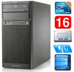 HP ProLiant ML110 G6 i3-550 16GB 960SSD DVD WIN10