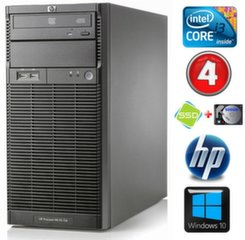HP ProLiant ML110 G6 i3-550 4GB 120SSD+500GB DVD WIN10