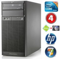 HP ProLiant ML110 G6 i3-550 4GB 120SSD+500GB DVD WIN7Pro