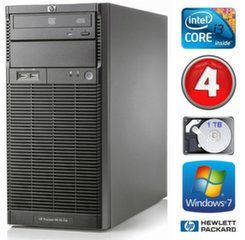 HP ProLiant ML110 G6 i3-550 4GB 1TB DVD WIN7Pro