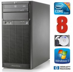 HP ProLiant ML110 G6 i3-550 8GB 1TB DVD WIN7Pro