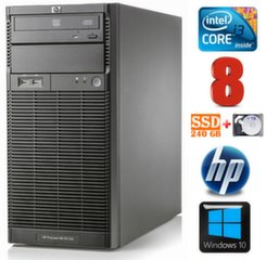 Lauaarvuti HP ProLiant ML110 G6 i3-550 8GB 240SSD+1TB DVD WIN10