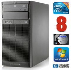 Lauaarvuti HP ProLiant ML110 G6 i3-550 8GB 500GB DVD WIN7Pro