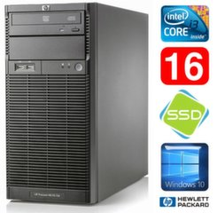 HP ProLiant ML110 G6 i3-550 16GB 120SSD DVD WIN10