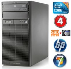 Lauaarvuti HP ProLiant ML110 G6 i3-550 4GB 240SSD+500GB DVD WIN7Pro