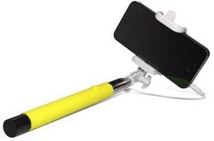 Selfie Stick Sponge C (20-102 cm) Желтая