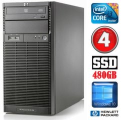 Lauaarvuti HP ProLiant ML110 G6 i3-550 4GB 480SSD DVD WIN10