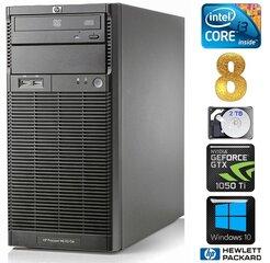 Lauaarvuti HP ProLiant ML110 G6 i3-550 8GB 2TB GTX1050Ti 4GB DVD WIN10
