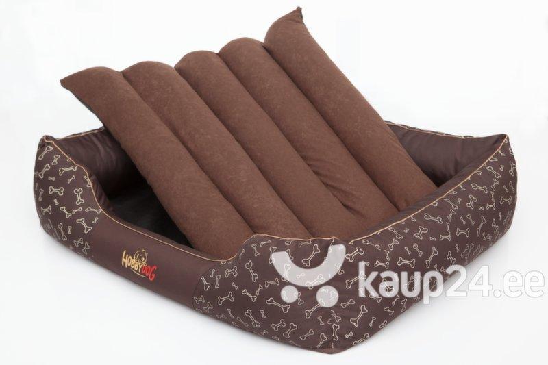 Lemmiklooma pesa Hobbydog Prestige XL, pruun kontidega