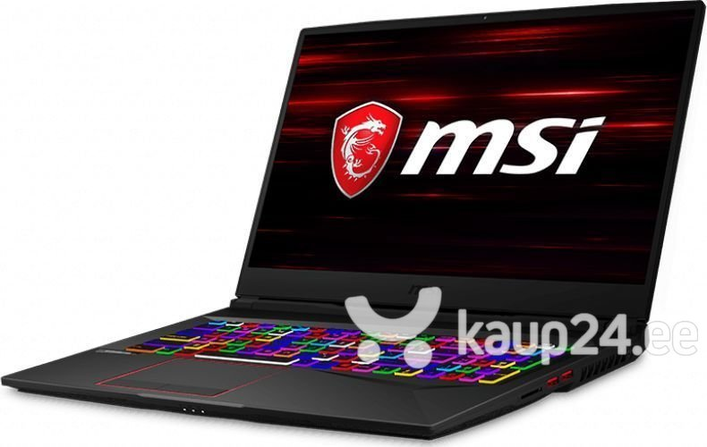 MSI GE75 Raider (8SE-272XPL) 16 GB RAM/ 256 GB M.2 PCIe/ 512 GB SSD/ Windows 10 Pro
