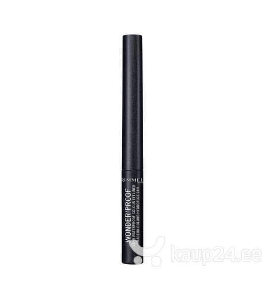 Vedel silmalainer Rimmel London Wonder Proof 1,4 ml, 006 Sparkly Anthracite