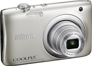 Nikon Coolpix A100, hõbedane