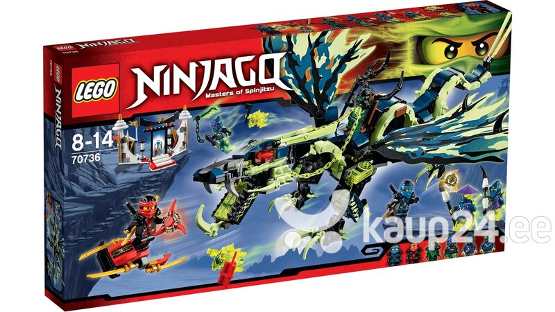Klotsid Lego Ninjago Attack of the Morro Dragon 70736 цена и информация | Kokkupandavad mänguasjad | kaup24.ee