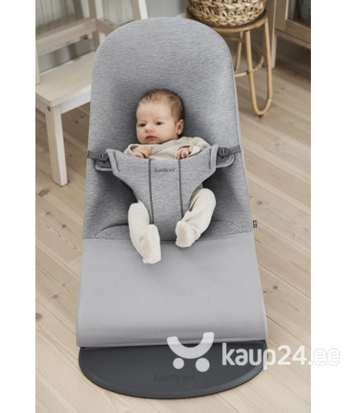 Babybjörn lamamistool Bliss Light grey 3D Jersey