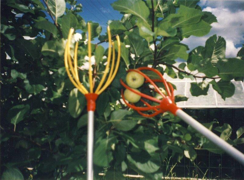 Сборщик для плодов и ягод, 1,9 м цена и информация | Aiatööriistad | kaup24.ee