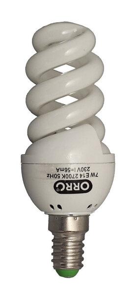 Kompaktne fluorestseeriv pirn ORRO, 11W, E14 цена и информация   Lambipirnid, lambid   kaup24.ee