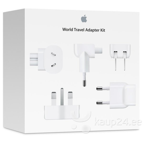 Adapter/laadija Apple World Travel Kit (MD837ZM) цена и информация | Tahvelarvuti lisatarvikud | kaup24.ee