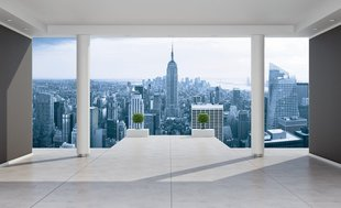 Fototapeet Penthouse Empire State